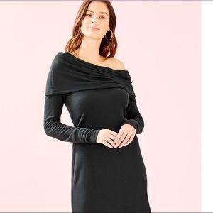 NWT Black Knit Belinda Dress